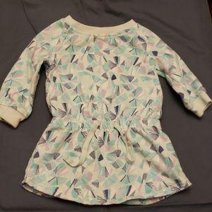Blue Baby Sweater Dress 6-12 months